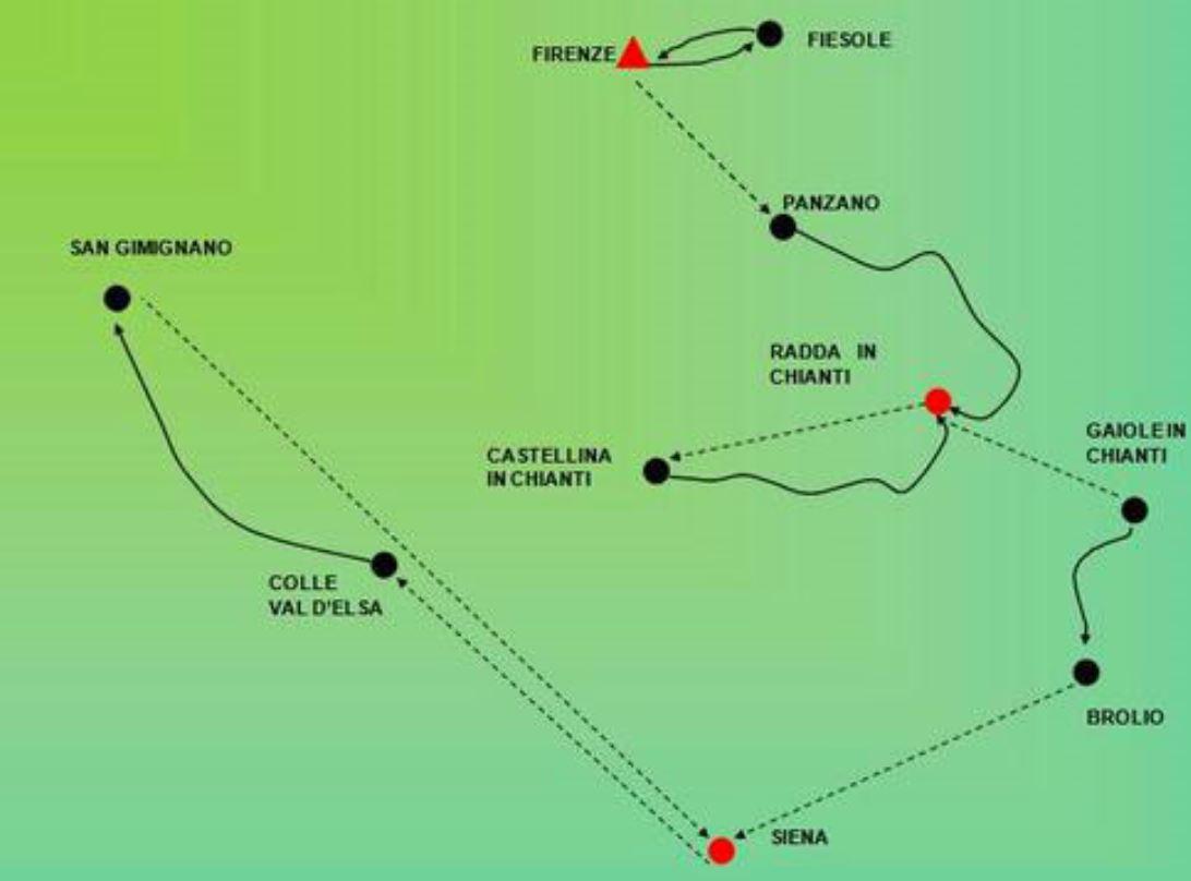 Karta Italien Chianti.Chianti France Scotland Tours